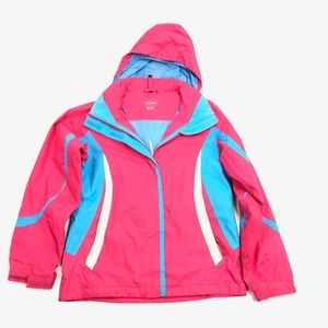 Girls Youth Kinds M 10-12 LL Bean Winter Shell Jac